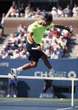"""<p>""""Para mim, isso é um sonho. Vou jogar pela primeira vez a final aqui na maior quadra central do mundo,"""" disse o espanhol Rafael Nadal. 11/09/2010 REUTERS/Peter Jones</p>"""