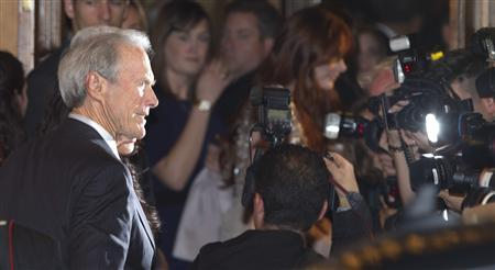 Director Clint Eastwood arrives at the gala presentation for the film ' Hereafter' during the 35th Toronto International Film Festival, September 12, 2010. REUTERS/Fred Thornhill