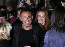 "<p>Musician Bruce Springsteen and his wife Patti Scialfa (R) arrive at the gala presentation for the film ""The Promise: The Making Of Darkness On The Edge Of Town"" at the 35thToronto International Film Festival September 14, 2010. REUTERS/Mike Cassese</p>"