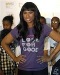 <p>Actress and singer Jennifer Hudson appears at P.S. 111 Adolf S. Ochs Elementary School in New York City, September 15, 2010. REUTERS/Mike Segar</p>