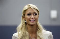 <p>Paris Hilton waits in the courtroom at the Regional Justice Center in Las Vegas, Nevada September 20, 2010. REUTERS/Las Vegas Sun/Steve Marcus</p>