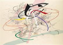 "<p>""Untitled I"" by Julie Mehretu is seen in this undated handout. The painting was commissioned by Goldman Sachs and has an estimated price range of $600,000 to $800,000. REUTERS/Sotheby's/handout</p>"