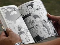 """<p>Jean-Pierre Amoreau, propriétaire du château Le Puy, doit au manga """"Les gouttes de Dieu"""" d'être le vigneron français le plus connu au Japon, signe d'un engouement asiatique plus général pour les vins du Bordelais./Photo prise le 23 septembre 2010/REUTERS/Régis Duvignau</p>"""