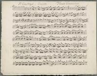 <p>La partition d'un concerto pour flûte d'Antonio Vivaldi, que l'on croyait perdue, a été découverte par un universitaire parmi des vieux papiers aux archives nationales écossaises à Edimbourg. /Photo diffusée le 7 octobre 2010/REUTERS/Archives nationales d'Ecosse/Handout</p>