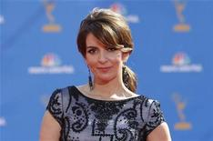 <p>Actress Tina Fey from the comedy series '30 Rock' poses at the 62nd annual Primetime Emmy Awards in Los Angeles, California August 29, 2010. REUTERS/Mario Anzuoni</p>