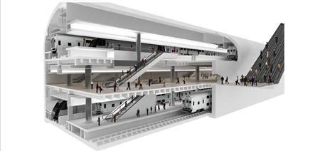 A rendering of the ARC Tunnel project's proposed Penn Station Expansion. REUTERS/NJ Transit/Port Authority of NY & NJ
