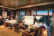 <p>A view of the Presidential Living room at the Mandarin Oriental Tokyo hotel in this undated handout photo. REUTERS/Mandarian Oriental/Handout</p>