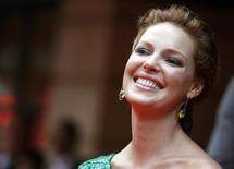 """<p>Katherine Heigl na estreia de """"A Verdade Nua e Crua"""" em Londres, em 2009. Seu novo filme """"Juntos pelo Acaso"""" estreia em circuito nacional nesta semana. 04/08/2009 REUTERS/Luke MacGregor</p>"""