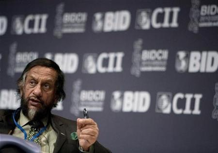 Director General of TERI and Chairman of the IPCC Rajendra K. Pachauri attends the annual meetings of the Inter-American Development Bank (IADB) in Cancun March 20, 2010. REUTERS/Gerardo Garcia