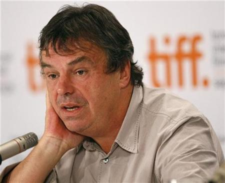 Director of the movie ''Ondine'' Neil Jordan answers a question at a news conference during the 34th Toronto International Film Festival September 15, 2009. REUTERS/Mario Anzuoni