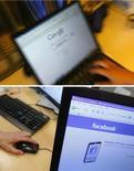 <p>Google va empêcher Facebook et d'autres sociétés d'avoir accès aux données de ses utilisateurs, une décision symptomatique de la rivalité croissante entre les deux géants sur internet. Le numéro un mondial de la recherche sur internet ne permettra plus l'importation automatique des contacts des abonnés à ses services e-mail, à moins qu'il n'y ait une réciprocité des flux d'information. /Photos d'archives/REUTERS/Jason Lee/Thierry Roge</p>