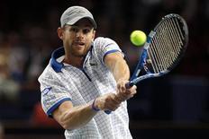 <p>Tenista Andy Roddick, que garantiu lugar no ATP Finals de Londres. REUTERS/Benoit Tessier</p>