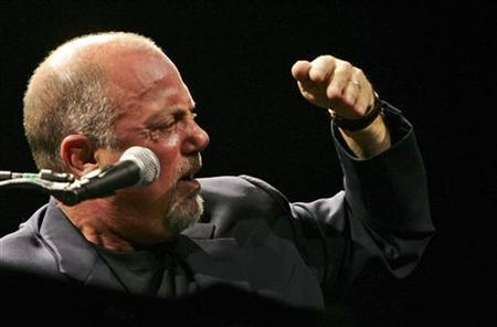Billy Joel performs in a file photo. REUTERS/Siphiwe Sibeko