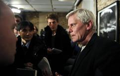 <p>Porta-voz do WikiLeaks, Kristinn Hrafnsson, confirmou que o site pretende publicar também revelações sobre o mundo empresarial. REUTERS/Paul Hackett</p>