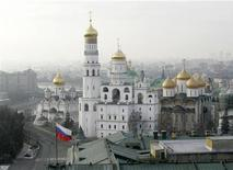 <p>Le tribunal d'arbitrage de Moscou a débouté Valéry Koubarev, un homme d'affaires russe qui, affirmant être un descendant d'Ivan le Terrible, revendiquait la propriété du Kremlin. /Photo d'archives/REUTERS/Mikhail Voskresensky</p>
