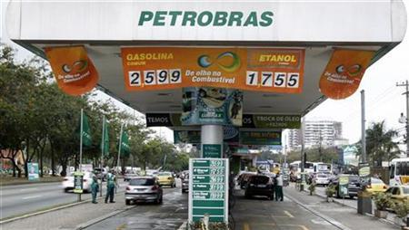 A Petrobras gas station is seen in Rio de Janeiro September 24, 2010. REUTERS/Bruno Domingos