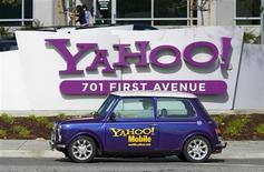 <p>Yahoo va réduire ses effectifs de 4%, soit 600 salariés. Le portail internet emploie 14.100 personnes, selon les dernières données communiquées fin septembre par l'entreprise. /Photo d'archives/REUTERS/Kimberly White</p>