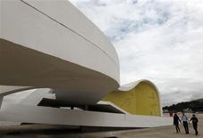 <p>Prédio projetado por Oscar Niemeyer em Niterói que vai abrigar a Fundação Oscar Niemeyer. 15/12/2010 REUTERS/Bruno Domingos</p>
