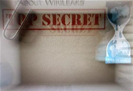 The homepage of the WikiLeaks.org website is pictured in Beijing December 2, 2010. REUTERS/Petar Kujundzic
