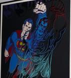 """<p>Foto de la obra de Andy Warhol """"Superman"""" entregada por el Departamento de Policía de la ciudad de Nueva York. Dic 24, 2010. REUTERS</p>"""