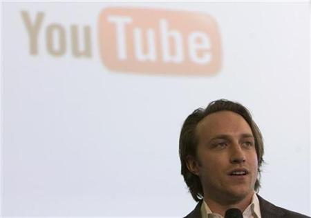 Chad Hurley, chief executive and co-founder of YouTube, attends a ceremony launching Israel's President Shimon Peres' YouTube channel at the president's residence in Jerusalem December 8, 2009. REUTERS/Ronen Zvulun