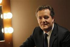 "<p>Piers Morgan, host of ""Piers Morgan Tonight,"" poses during the Turner Broadcasting Television Critics Association winter press tour in Pasadena, California January 6, 2011. REUTERS/Mario Anzuoni</p>"