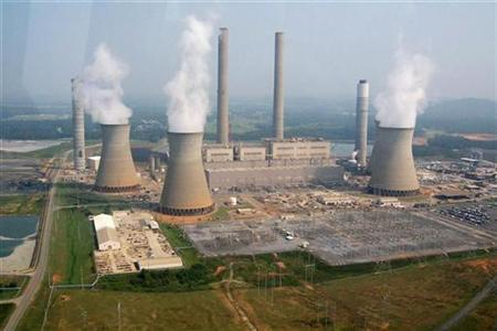 A coal-fired power plant is seen in this file photo. REUTERS/Chris Baltimore
