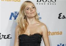 <p>Actress Sienna Miller poses at the Esquire House LA grand opening benefit for the International Medical Corps in Los Angeles, California, October 15, 2010. REUTERS/Fred Prouser</p>