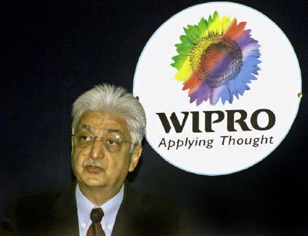 Azim Premji, Chairman of Wipro Ltd., is seen in Bangalore October 15, 2004. REUTERS/Jagadeesh/Files