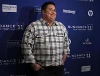 """<p>Cast member Chaz Bono poses for the media before the screening of the film """"Becoming Chaz"""" during the Sundance Film Festival in Park City, Utah January 23, 2011. REUTERS/Jim Urquhart</p>"""