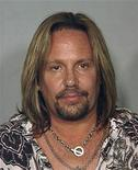 <p>Motley Crue singer Vince Neil is seen in this police booking mug shot from the Las Vegas Police Department, released to Reuters June 28, 2010. REUTERS/Las Vegas Police Department/Handout</p>