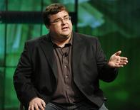 <p>Co-fundada por Reid Hoffman, a rede LinkedIn tem planos de abrir capital este ano. 23/07/2009. REUTERS/Fred Prouser</p>