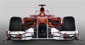 <p>Ferrari apresenta carro para a temporada 2011 da Fórmula 1. REUTERS</p>