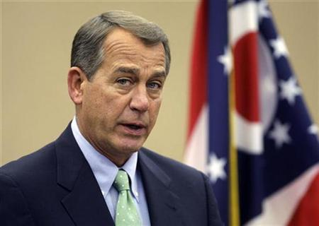 Speaker of the House John Boehner (R-OH) speaks about the shooting in Arizona during a news conference in West Chester, Ohio, January 9, 2011. REUTERS/Jay LaPrete