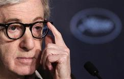 <p>Novo filme de Woody Allen abrirá Festival de Cannes, que acontece entre 11 e 22 de maio. 15/05/2010 REUTERS/Vincent Kessler</p>