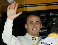 <p>Robert Kubica na sessão de treino do GP da Hungria. Kubica quer voltar ainda neste ano à Fórmula 1, depois do grave acidente sofrido num rali no domingo. 30/07/2010 REUTERS/Leonhard Foeger/Arquivo</p>
