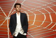 """<p>Actor Andrew Garfield poses in Cancun July 1, 2010, Garfield has been cast as """"Peter Parker"""" in the next Spider-Man movie that will be screened in 3D on July 2012. REUTERS/Gerardo Garcia</p>"""