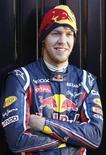 <p>Sebastian Vettel no circuito de Ricardo Tormo, próximo de Valência. O campeão mundial de Fórmula 1 da Red Bull voltou a declarar seu desejo de correr pela Ferrari. 02/02/2011 REUTERS/Heino Kalis</p>