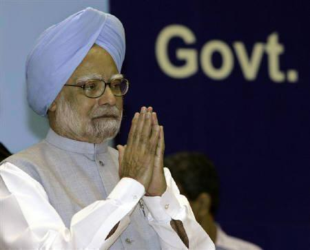 Prime Minister Manmohan Singh is seen in New Delhi in this August 12, 2009 file photo. REUTERS/B Mathur/Files