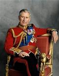 <p>Britain's Prince Charles in an official portrait taken by photographer Hugo Burnand in 2008. REUTERS/Hugo Burnand/Handout</p>
