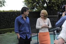 <p>Actor Charlie Sheen talks to ABC News' Andrea Canning in Los Angeles, February 26, 2011. REUTERS/ABC News</p>