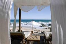 <p>A cabana on a beach in Los Cabos in an undated photo. REUTERS/Mexico Tourism Board</p>