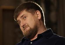 <p>Ramzan Kadyrov, presidente da Chechênia, durante entrevista à Reuters em dezembro de 2009. O líder irá jogar como capitão da equipe Terek Grozny XI contra jogadores brasileiros. 16/12/2009 REUTERS/Denis Sinyakov</p>