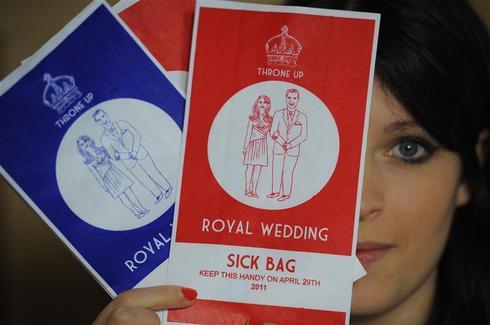 Royal sick bags