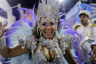 Rio's Carnival party