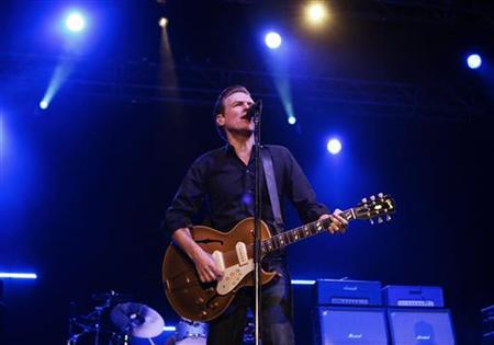 Canadian musician Bryan Adams performs during a concert in Beirut December 14, 2010. REUTERS/Cynthia Karam