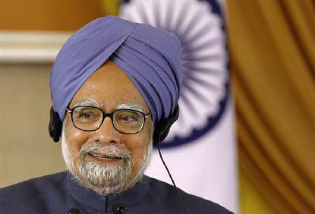 Prime Minister Manmohan Singh speaks during a joint news conference  in New Delhi December 21, 2010. REUTERS/B Mathur/Files