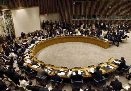 The United Nations Security Council is convened  at U.N. headquarters in New York, November 16, 2010. REUTERS/Brendan McDermid/Files