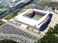 <p>Imagem do projeto do futuro estádio do Corinthians, que será construído em Itaquera. REUTERS/Corinthians/Divulgação</p>