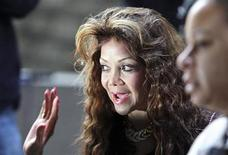 <p>Michael Jackson's sister, La Toya Jackson, arrives to court as a preliminary hearing for Dr. Conrad Murray continues in Los Angeles, California, January 5, 2011. REUTERS/David McNew</p>